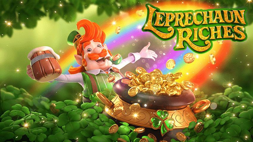 รีวิวสล็อตภูติจิ๋ว Leprechaun Riches สล็อตออนไลน์จากค่าย PG